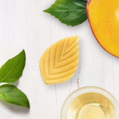 revitalisant solide mangue et basilic